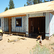 Sisters Habitat house in progress