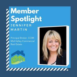 OAR Member Spotlight Jennifer Martin