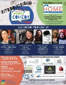 Stand-Up for Home Comedy Tour Schedule